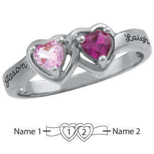 Sterling Silver Declaration Promise Ring