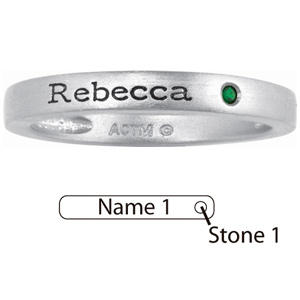 Sterling Silver Simple Stackable Ring