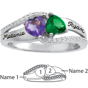 Sterling Silver Sweet Promise Ring
