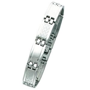 8in to 8 3/4in Steel Bracelet