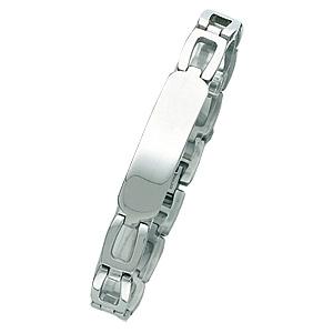 8in to 8 3/4in Steel ID Bracelet