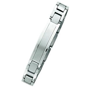 Stainless Steel 8 3/4in Men's ID Bracelet