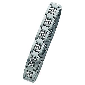 8 to 8 3/4in Titanium Bracelet
