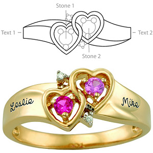 Amour Promise Ring