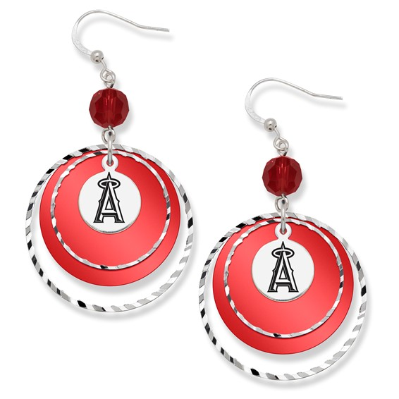 Los Angeles Angels of Anaheim Game Day Earrings