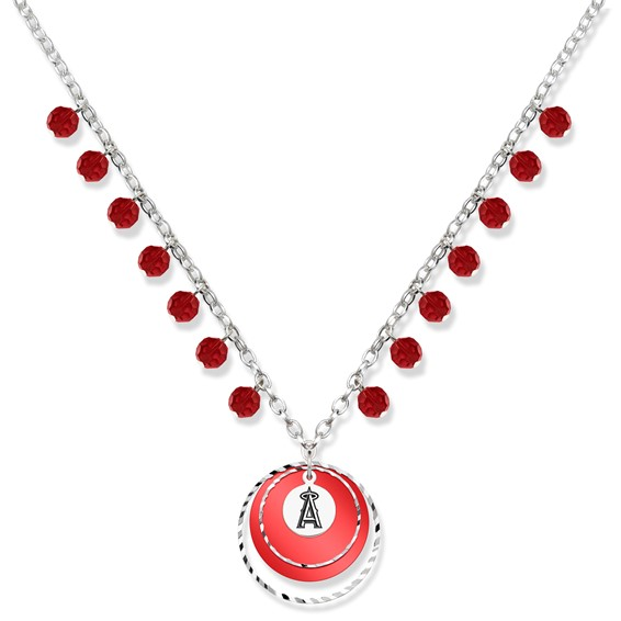 Los Angeles Angels of Anaheim Game Day Necklace