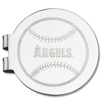 Los Angeles Angels Laser Engraved Money Clip