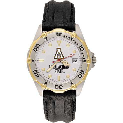 Appalachian State All Star Mens Leather Watch