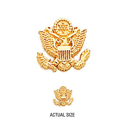 10kt Gold U.S. Army Tie Tac