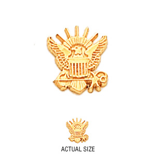 10kt Yellow Gold U.S. Navy Tie Tac