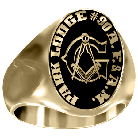 Artisan G Compass Square 14kt Yellow Gold