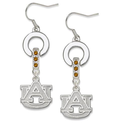 Auburn University MVP Crystal Earrings