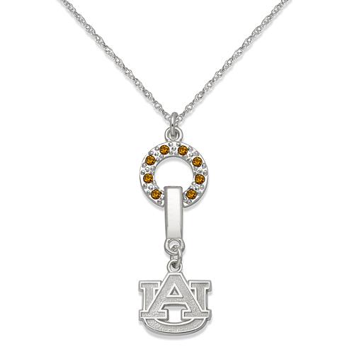 Auburn University MVP Crystal Necklace