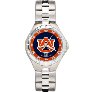 Auburn University Ladies Stainless Pro II Watch