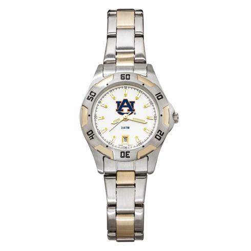 Auburn University All-Pro Women's Two-Tone Watch