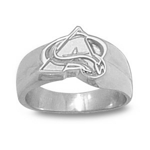Sterling Silver Colorado Avalanche Ladies' Ring