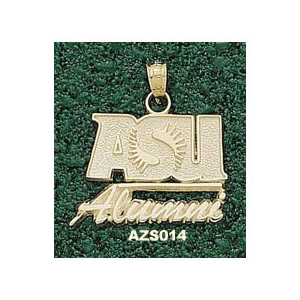 Arizona State 3/4in 10k Alumni Pendant