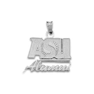 Arizona State 3/4in Sterling Silver Alumni Pendant