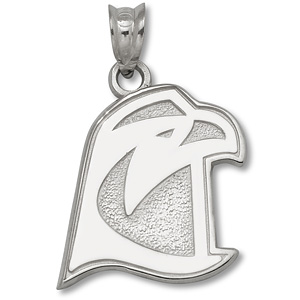 Sterling Silver 5/8in Bowling Green Falcon Head Pendant