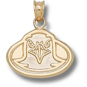 Boston College Eagles 1/2in 14k Face Pendant