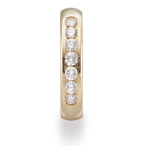 Benchmark 14k Yellow Gold 2/5 CT Diamond Wedding Band 4mm