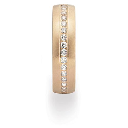 Benchmark 1/3 CT Diamond Band 6mm - 14k Yellow Gold