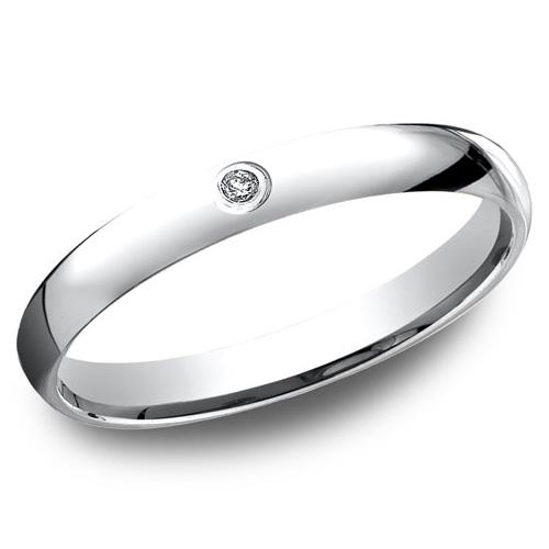 14kt White Gold .02 ct Diamond Promise Ring