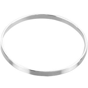 Sterling Silver 4.75mm Jumbo Bangle Bracelet