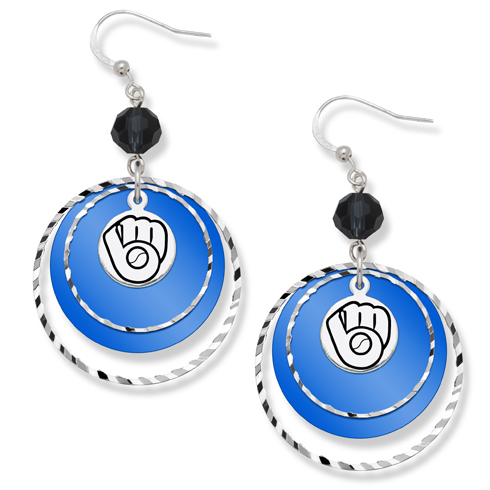 Milwaukee Brewers Game Day Earrings