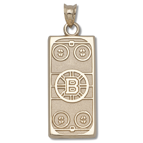 Boston Bruins Rink 14kt Yellow Gold
