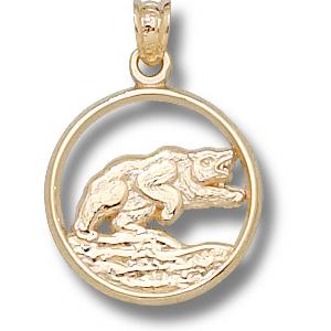 Baylor Bears 5/8in 10k Bear Pendant