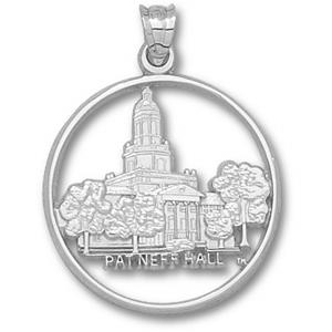 Sterling Silver 1in Baylor Patneff Hall Pendant