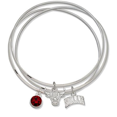 Chicago Bulls Triple Bangle Bracelet