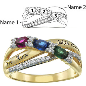 Cascade Mother's Ring