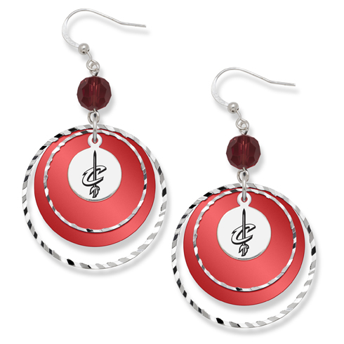 Cleveland Cavaliers Game Day Earrings