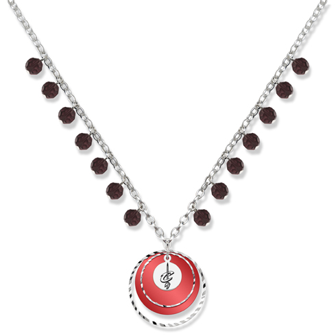 Cleveland Cavaliers 18in Game Day Necklace