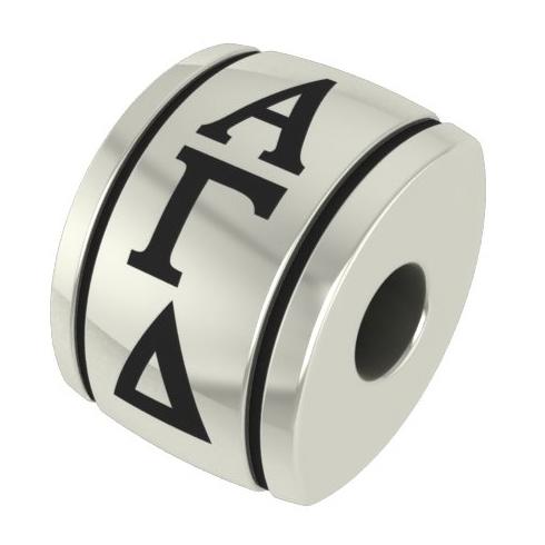 Sterling Silver Alpha Gamma Delta Bead