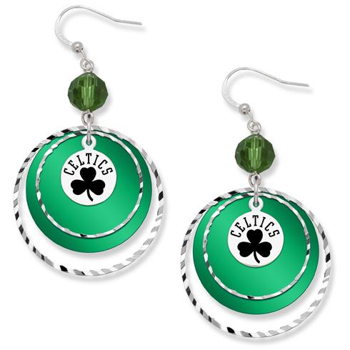 Boston Celtics Game Day Earrings