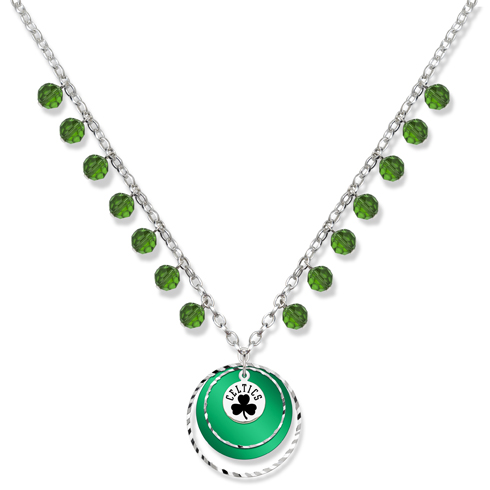 Boston Celtics Game Day Necklace