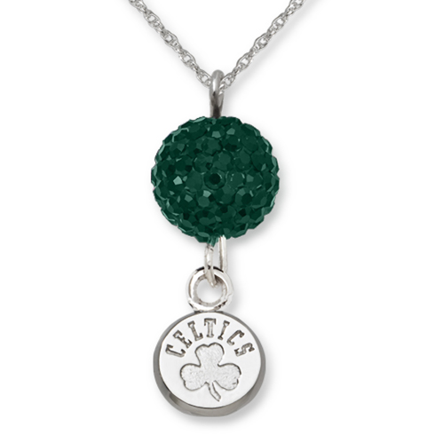 Sterling Silver Boston Celtics Ovation Necklace