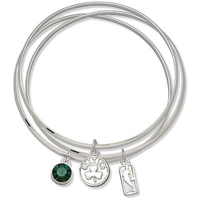 Boston Celtics Triple Bangle Bracelet