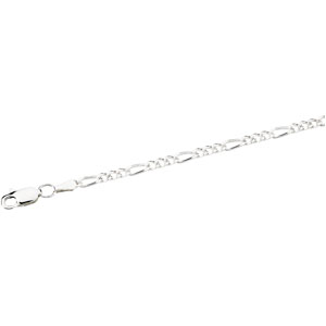 Sterling Silver 18in Figaro Chain 2.5mm