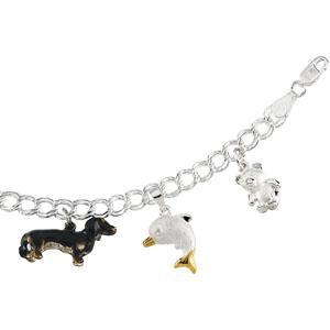 7in Paralleo Charm Bracelet - 5.5mm