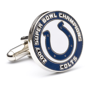 2007 Indianapolis Colts Champ Cufflinks