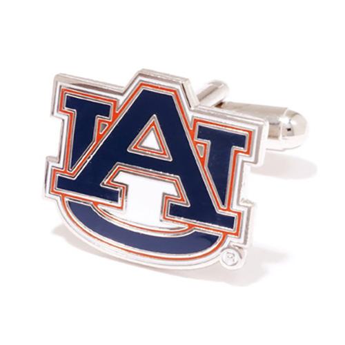Stainless Steel Auburn Tigers Cufflinks