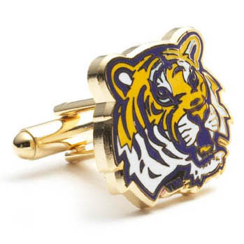LSU Tigers Cufflinks