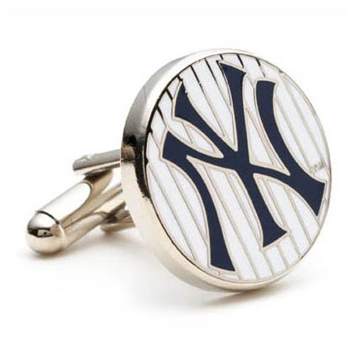 New York Yankees Pinstripe Cufflinks