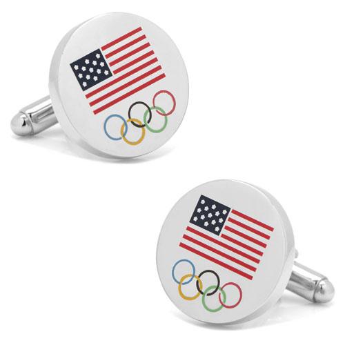 USA Olympics Cuff Links