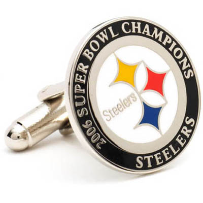 2006 Champion Steelers Cufflinks
