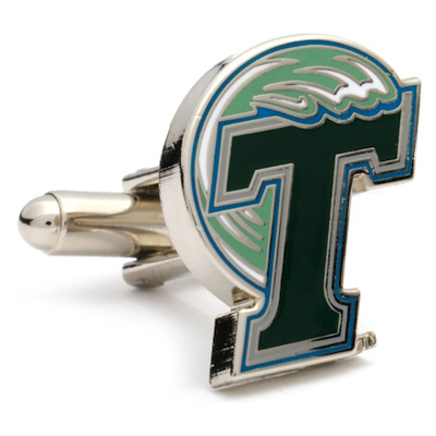 Tulane Green Wave Cufflinks